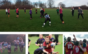 Women & Girls Pitch Up and Play at Hampstead