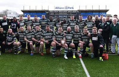 Hendon RFC win the London & South East Junior Vase final