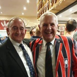 The President visits Ickenham Saints