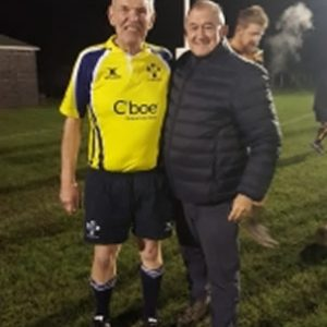 President's visit to Vet Rugby