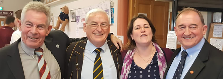 President's visit to Hove RFC